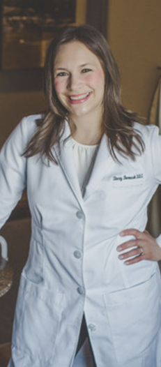 Head shot of Stacey Borowski, DDS